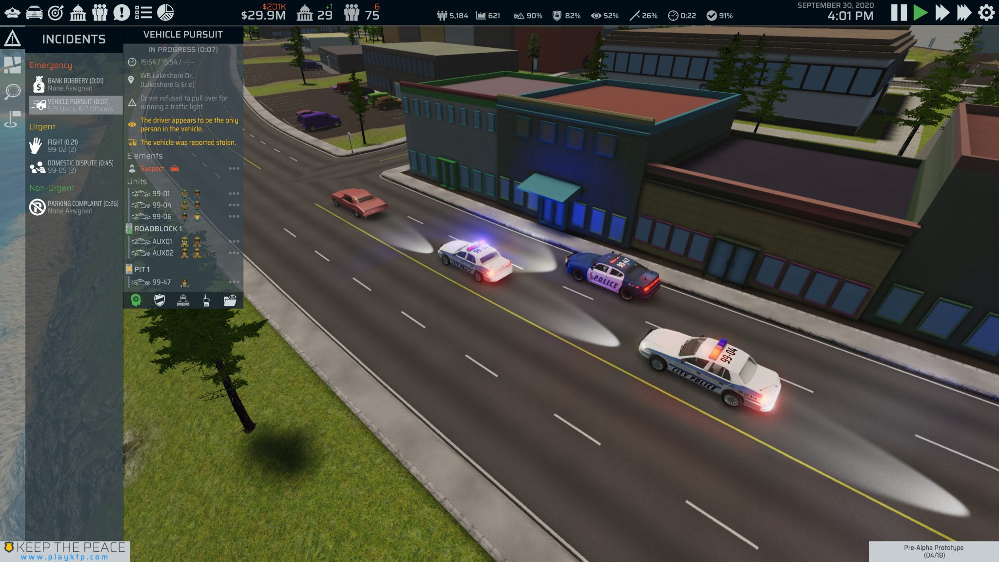 Keep the Peace – Strategic Police Command Video Game