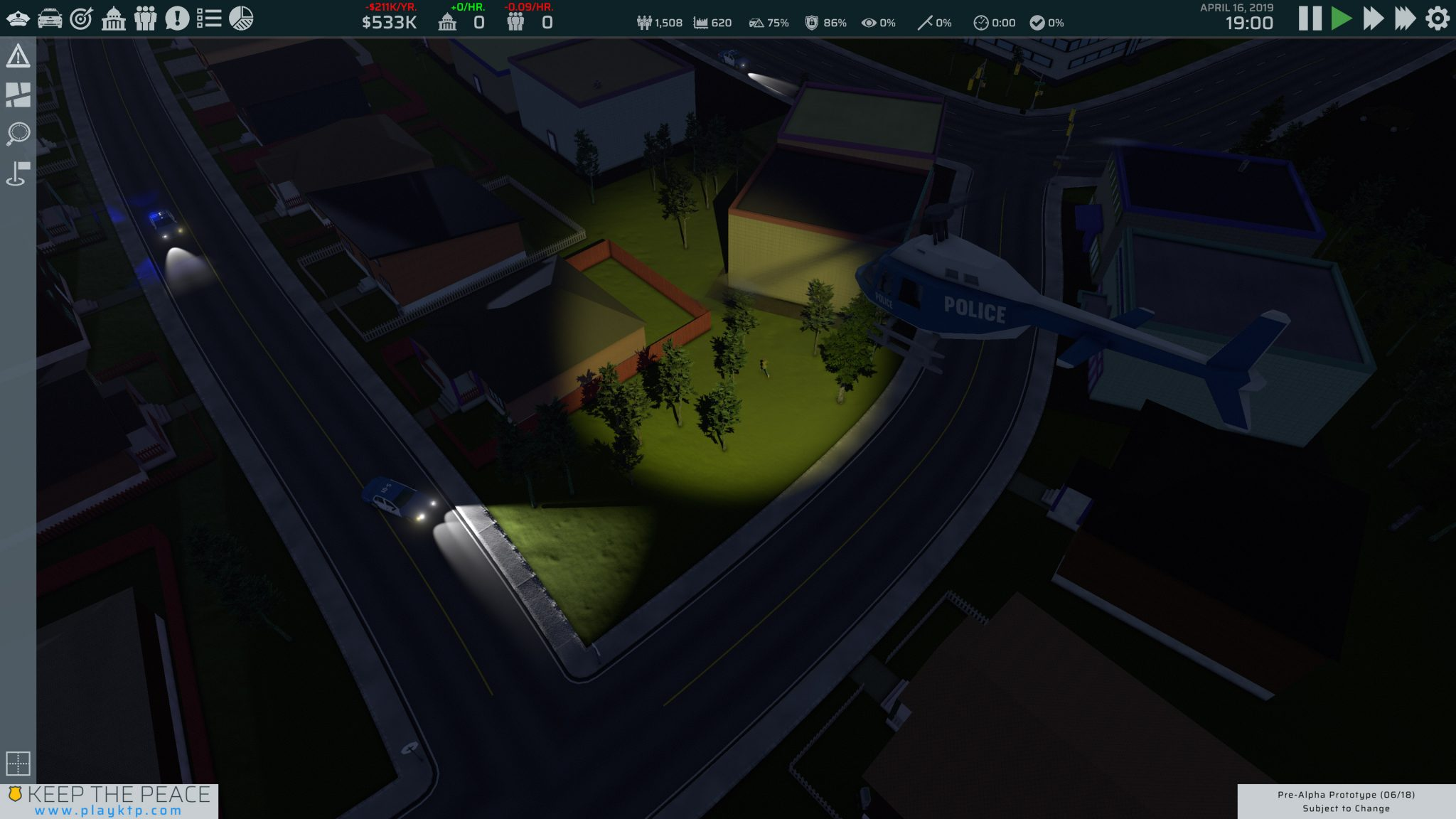 The Game   Keep the Peace – Strategic Police Command Video Game